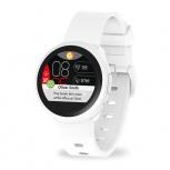MyKronoz Smartwatch ZeRound3 Lite, Touch, Bluetooth 4.2, Android/iOS, Blanco - Resistente a Salpicaduras