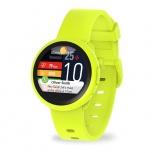 MyKronoz Smartwatch ZeRound3 Lite, Touch, Bluetooth 4.2, Android/iOS, Amarillo - Resistente a Salpicaduras