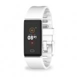 MyKronoz Smartwatch ZeTrack, Touch, Bluetooth 4.0, Android/iOS, Blanco - Resistente al Agua