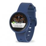 MyKronoz Smartwatch ZeRound3 Lite, Touch, Bluetooth 4.2, Android/iOS, Azul - Resistente a Salpicaduras