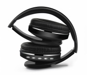 Naceb Technology Audífonos con Micrófono Cetus, Bluetooth, Inalámbrico, Negro