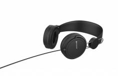 Naceb Audífonos con Micrófono Air, Alámbrico, 1.2 Metros, 3.5mm, Negro