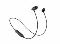 Naceb Audífonos Intrauriculares con Micrófono NA-0314, Inalámbrico, Bluetooth, Negro