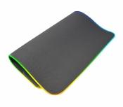 Mousepad Gamer Naceb con Carga Inalámbrica NA-0926, 31x40cm, Grosor 3mm, Negro