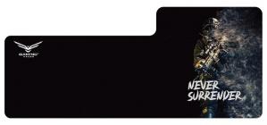 Mousepad Gamer Naceb Never Surrender, 87cm x 38cm, Negro
