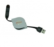 Naceb Cable Micro-USB B Macho - Lightning Macho, 1 Metro, Blanco