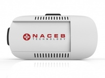 Lentes de Realidad Virtual Naceb NA-624, para Smartphones max. 6'', 95°