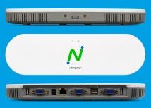 NComputing MX100S Thin Client para vSpace, 1x RJ-45, 3x USB 2.0, Gris/Blanco