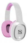 Necnon Audífonos con Micrófono NBH-04 Pro, Bluetooth, Inalámbrico, Rosa
