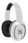 Necnon Audífonos con Micrófono NBH-04 Pro, Bluetooth, Inalámbrico, Blanco