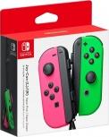 Nintendo Joy-Con, Inalámbrico, Rosa/Verde, para Nintendo Switch