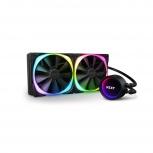 NZXT Kraken X63 RGB Enfriamiento Líquido para CPU, 2x 140mm, 800 - 3100RPM
