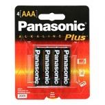 Panasonic Batería No Recargable AAA, 4 Piezas