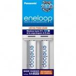 Panasonic Cargador Eneloop para 1-2 Pilas AA