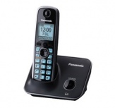Panasonic Teléfono DETC con Pantalla LCD de 1.8'', Azul/Negro