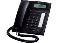 Panasonic Teléfono Alámbrico 1 Línea KX-TS880B, Altavoz, Negro