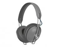 Panasonic Audífonos RP-HTX80BPPH, Bluetooth, Inalámbrico, USB, Gris