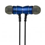 Perfect Choice Audífonos Intrauriculares con Micrófono Staccato, Inalámbrico, Bluetooth, USB, Azul