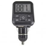 Perfect Choice Transmisor FM para Auto PC-331131, Bluetooth/3.5mm, Negro