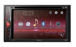 Pioneer Autoestéreo AVH-A215BT, 50W, MP3/USB/AUX, Bluetooth, Negro
