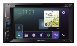Autoestéreo Pioneer AVH-Z2050BT, MP3/USB/Bluetooth/AUX, Negro