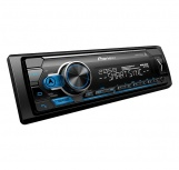 Pioneer Autoestéreo MVH-S315BT, 50W, AAC/FLAC/MP3/WAV/WMA, USB, Negro