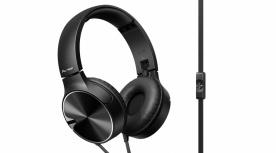 Sony Audífonos con Micrófono SE-MJ722, Alámbrico, 1.2 Metros, 3.5mm, Negro