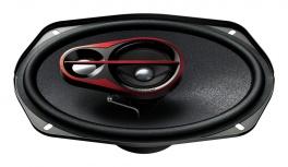 Pioneer Bocina para Auto TS-R6951S, 400W, 3 Vías, 92dB, 6'' x 9'', Negro