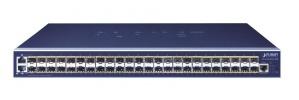 Switch Planet Gigabit Ethernet GS-6320-46S2C4XR, 46 Puertos 10/100/1000Mbps + 4 Puertos SFP+, 176Gbit/s, 16.000 Entradas - Gestionado