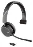 Plantronics Audífonos con Micrófono Monoaural Voyager 4210 UC, Inalámbrico, Bluetooth, Negro