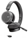 Poly Auriculares Voyager 4220 UC, Alámbrico, USB A, Negro