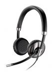 Plantronics Audífonos con Micrófono Binaural Blackwire 720, Alámbrico, USB, Negro