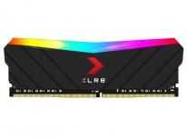 Memoria RAM PNY XLR8 Black RGB DDR4, 3200MHz, 8GB, CL16, Non-ECC, XMP