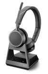 Poly Auriculares Voyager 4220 Office, Inalámbrico, Bluetooth 5.0, USB A, Negro