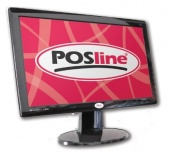 POSline M18 LED 18.5'', Widescreen, Negro