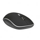 Mouse Premiertek WM-106BK, RF Inalámbrico, USB, 1600DPI, Negro