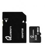 Memoria Flash Quaroni, 32GB MicroSDHC Clase 10, con Adaptador