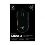 Mouse Gamer Razer Láser Mamba Tournament Edition, Alámbrico, USB, 16000DPI, Negro