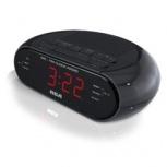 RCA Radio Despertador RC205, AM/FM, Negro
