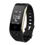 Redlemon Smartband Fitband, Touch, Bluetooth 4.0, Android/iOS, Negro - Resistente al Agua/Polvo