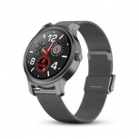Redlemon Smartwatch Pro W50, Touch, Bluetooth 5.0, Android/iOS, Negro - Resistente a Salpicaduras