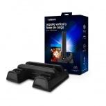Redlemon Base Vertical, Stand y Ventilador 80071, para PS4 (Regular/Pro/Slim), con Carga Dual para 2 Controles