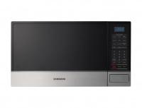 Samsung Horno de Microondas AME8114ST, 1.1 Pies Cúbicos, 1000W, Negro/Plata