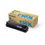 Tóner Samsung CLT-C503L Cyan, 5000 Páginas