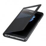 Samsung Funda S View Standing para Galaxy Note 7, Negro