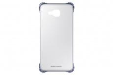 Samsung Funda Clear Cover para Galaxy A7, Negro/Transparente