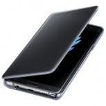 Samsung Funda S-View Cover para Galaxy Note 7, Negro