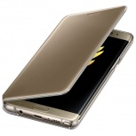 Samsung Funda S-View Cover para Galaxy Note 7, Oro