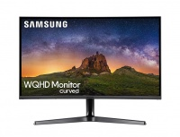 Monitor Curvo Samsung LC32JG50QQLXZX LED 31.5'', Quad HD, Widescreen, 144Hz, HDMI, Negro