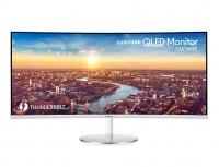Monitor Curvo Samsung LC34J791WTLXZX QLED 34'', Quad HD, Ultra-Wide, 100Hz, HDMI, Bocinas Integradas, Gris